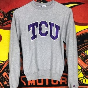 TCU Horned Frogs Texas Christian Universty Sweater